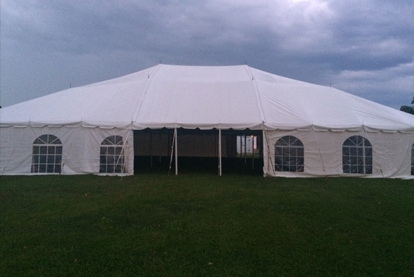 tent with windows in kitchener